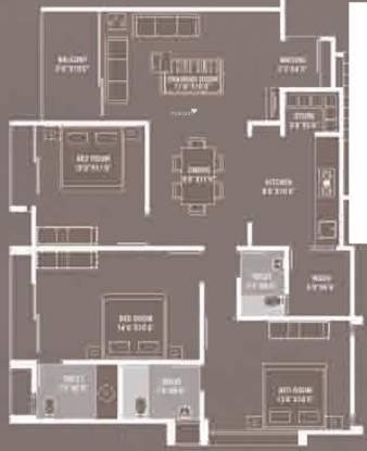 Devnandan Infinity (3BHK+3T (1,669 sq ft) Apartment 1669 sq ft)