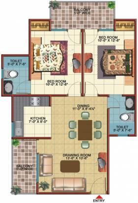 Vidur Brave Hearts 1 (2BHK+2T (1,150 sq ft) Apartment 1150 sq ft)