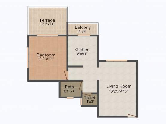 Sonigara Indraprabha Phase 2 (1BHK+1T (660 sq ft) Apartment 660 sq ft)