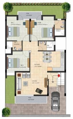 Habitat Dream Terraces Floor (3BHK+3T (1,580 sq ft) Apartment 1580 sq ft)