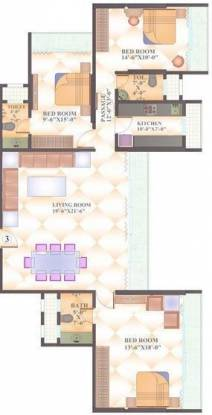 AP Panchavati B (3BHK+3T (1,745 sq ft) Apartment 1745 sq ft)