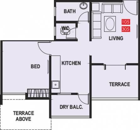 Maple Aapla Ghar Kirkatwadi (1BHK+1T (659 sq ft) Apartment 659 sq ft)