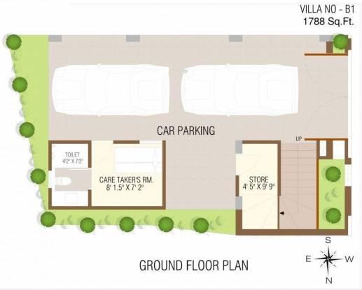 Anmol Kiran (3BHK+3T (1,788 sq ft)   Servant Room Villa 1788 sq ft)