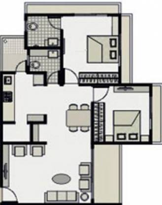 Dharmadev Neelkanth Elegance (2BHK+3T (1,305 sq ft) Apartment 1305 sq ft)