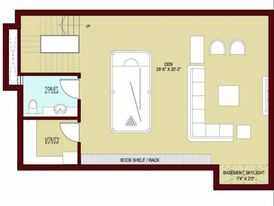 Vatika Signature Villas (5BHK+7T (4,538 sq ft)   Study Room Villa 4538 sq ft)