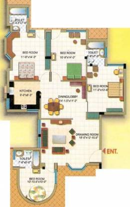 Mittals Rishi Apartments Mittals Rishi Apartments (4BHK+4T)