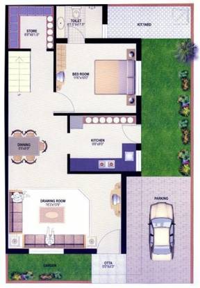Desai Anand Vihar Bungalows (3BHK+3T (1,890 sq ft) Villa 1890 sq ft)