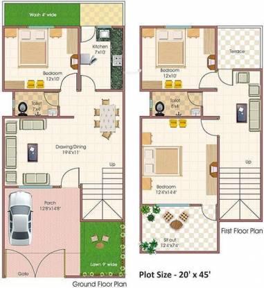 Abhinav Tirupati (3BHK+2T (900 sq ft) Villa 900 sq ft)