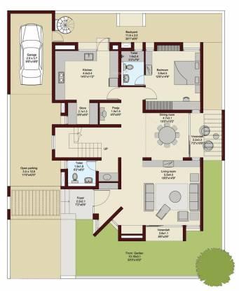 Ruchi Lifescapes Villa (5BHK+6T (5,242 sq ft) + Servant Room Villa 5242 sq ft)