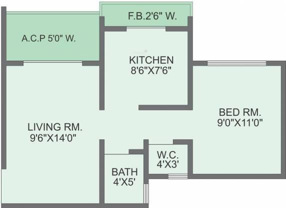 Panvelkar Estate (1BHK+1T (635 sq ft) Apartment 635 sq ft)