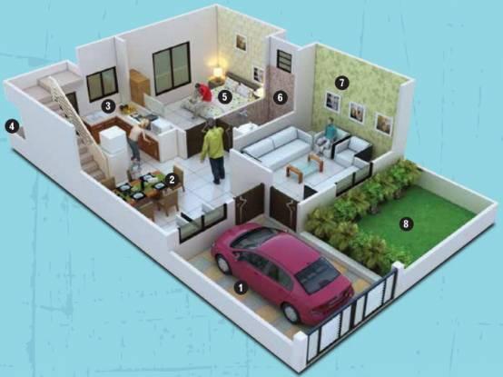 Kamal Bliss Villas (3BHK+3T (1,495 sq ft) Villa 1495 sq ft)