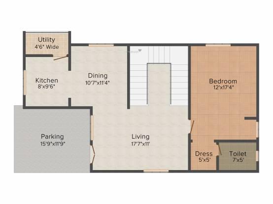 Surya Saket Comfort (3BHK+3T (2,400 sq ft) Villa 2400 sq ft)