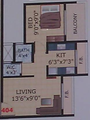 Payal Heights (1BHK+1T (630 sq ft) Apartment 630 sq ft)