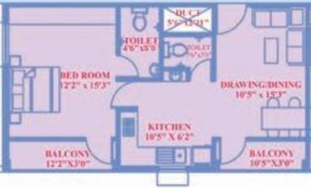 Decor Jagannath Avenue (1BHK+1T (863 sq ft) Apartment 863 sq ft)
