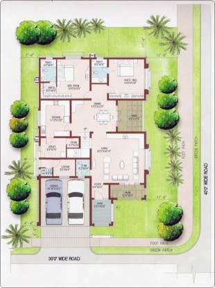 Prestige Ozone (4BHK+5T (4,200 sq ft) + Servant Room Villa 4200 sq ft)