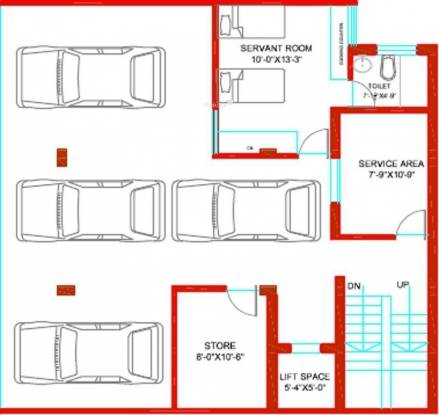 Tulip Ivory Villas (6BHK+7T (5,000 sq ft)   Servant Room Villa 5000 sq ft)