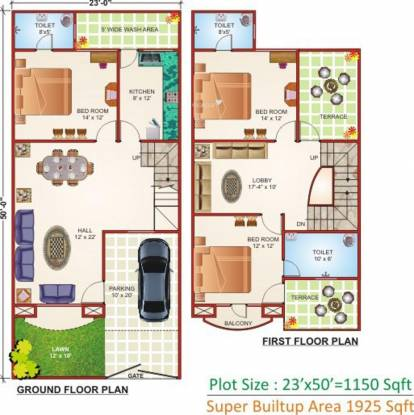 Geet Ganesh Villa (3BHK+3T (1,925 sq ft) Villa 1925 sq ft)