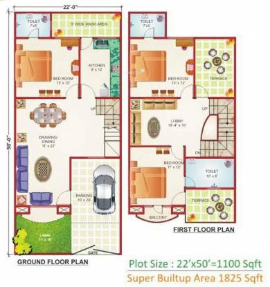 Geet Ganesh Villa (3BHK+3T (1,825 sq ft) Villa 1825 sq ft)