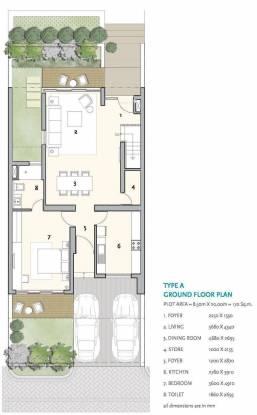 Ireo The Nest Villa (4BHK+4T (3,000 sq ft) Villa 3000 sq ft)