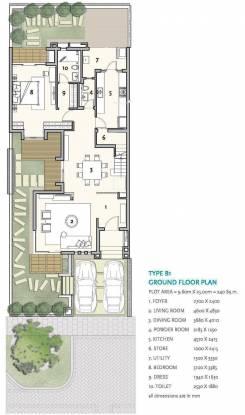 Ireo The Nest Villa (5BHK+5T (4,550 sq ft) Villa 4550 sq ft)