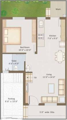 Darshanam Residency (3BHK+3T (1,150 sq ft) + Pooja Room Villa 1150 sq ft)