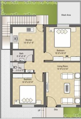 Darshanam Eco Vista (2BHK+2T (775 sq ft) Villa 775 sq ft)