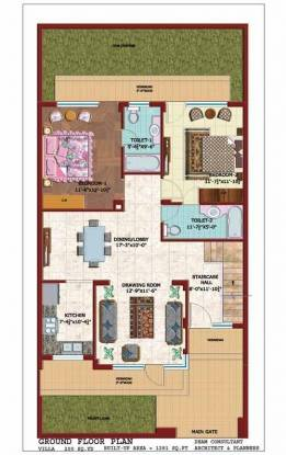 Janta Canal View Villa (5BHK+4T (2,690 sq ft) Villa 2690 sq ft)