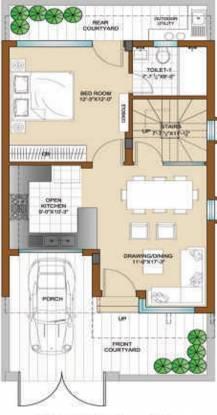 Bajwa Sunny Villas (3BHK+3T (990 sq ft) Villa 990 sq ft)