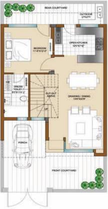 Bajwa Sunny Villas (3BHK+3T (1,260 sq ft) Villa 1260 sq ft)
