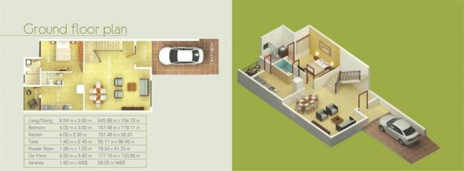 Sardesai Sunflower Estate (4BHK+4T (2,424 sq ft) Villa 2424 sq ft)