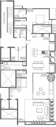 Shalaka Opus (4BHK+4T (3,900 sq ft) + Study Room Apartment 3900 sq ft)
