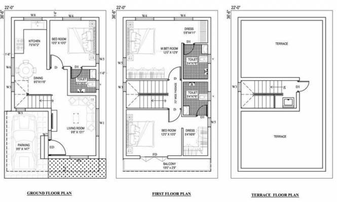 Artha Royale (3BHK+3T (1,535 sq ft) Villa 1535 sq ft)