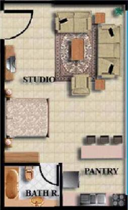 NCC Harmony (1BHK+1T (630 sq ft) Apartment 630 sq ft)