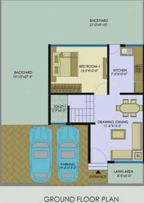 Pyramid Pyramid City 6 Row Houses (3BHK+3T (1,230 sq ft) Villa 1230 sq ft)