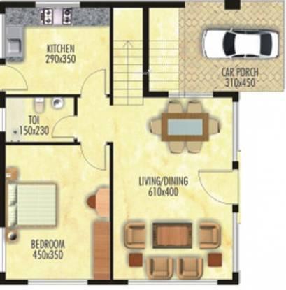Nanu Sapana Greensville (3BHK+3T (1,709 sq ft) Villa 1709 sq ft)