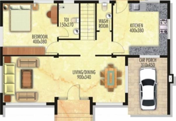 Nanu Sapana Greensville (4BHK+4T (1,948 sq ft) Villa 1948 sq ft)