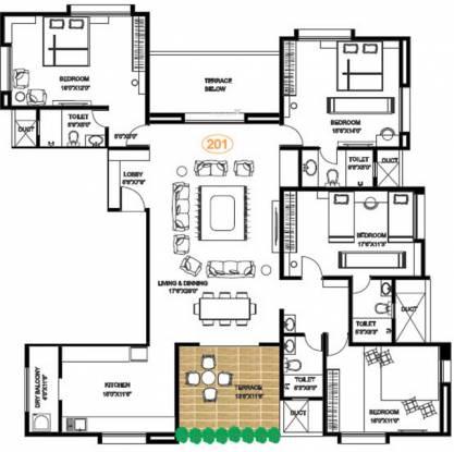 Pandit Jagdish (4BHK+4T (2,639 sq ft) Apartment 2639 sq ft)