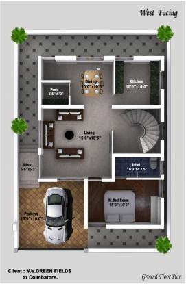 Green Field Housing India Limited Nachatra Classic Phase II (3BHK+3T (1,925 sq ft) + Pooja Room Villa 1925 sq ft)
