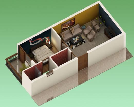Barwala Devashish Homes (1BHK+1T (600 sq ft) Apartment 600 sq ft)
