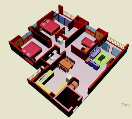 Malancha (3BHK+3T (1,495 sq ft) Apartment 1495 sq ft)