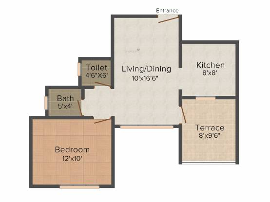 Legacy Bellezza (1BHK+1T (582 sq ft) Apartment 582 sq ft)