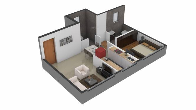 Shivam Imperial Heights (1BHK+2T (720 sq ft) Apartment 720 sq ft)