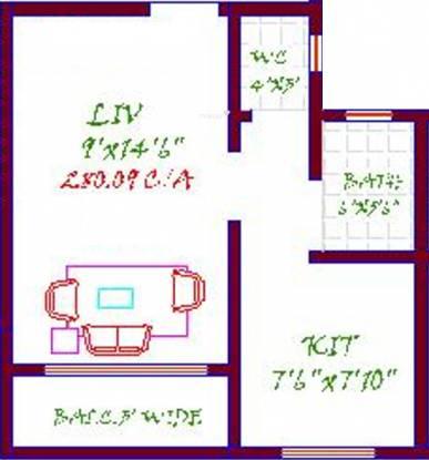 Suraj Omkar (1BHK+1T (390 sq ft) Apartment 390 sq ft)