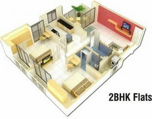 Platinum Om Sai Darshan (2BHK+2T (983 sq ft) Apartment 983 sq ft)