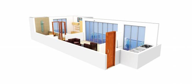 Dream Emerald (1BHK+1T (720 sq ft) Apartment 720 sq ft)