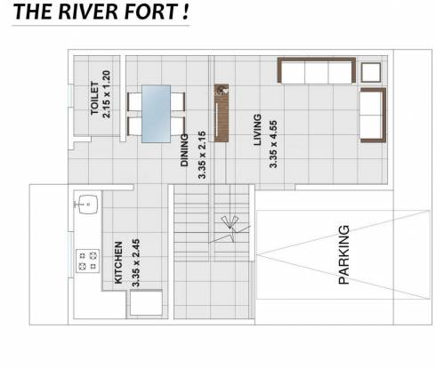 Hare Krishna The River Fort Hare Krishna The River Fort (2BHK+3T)