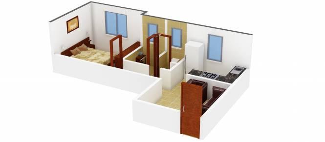 Dhavel Nilayam (1BHK+1T (565 sq ft) Apartment 565 sq ft)