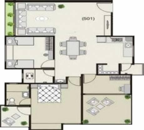 Mandot Sumeru Residency (2BHK+2T (1,750 sq ft) + Study Room Apartment 1750 sq ft)