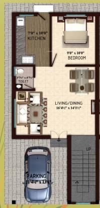 RKN Ektha Villas (3BHK+3T (1,595 sq ft) Villa 1595 sq ft)