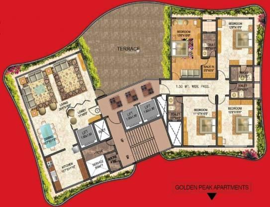 Ahuja Dunhill (4BHK+5T (3,800 sq ft) Apartment 3800 sq ft)